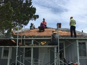 roof repair in Newton