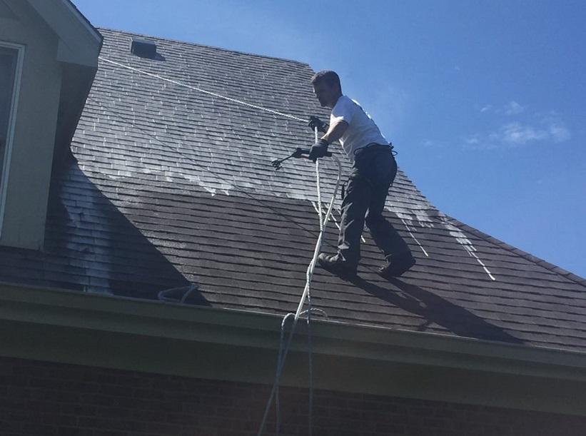 roof restoration in Newton
